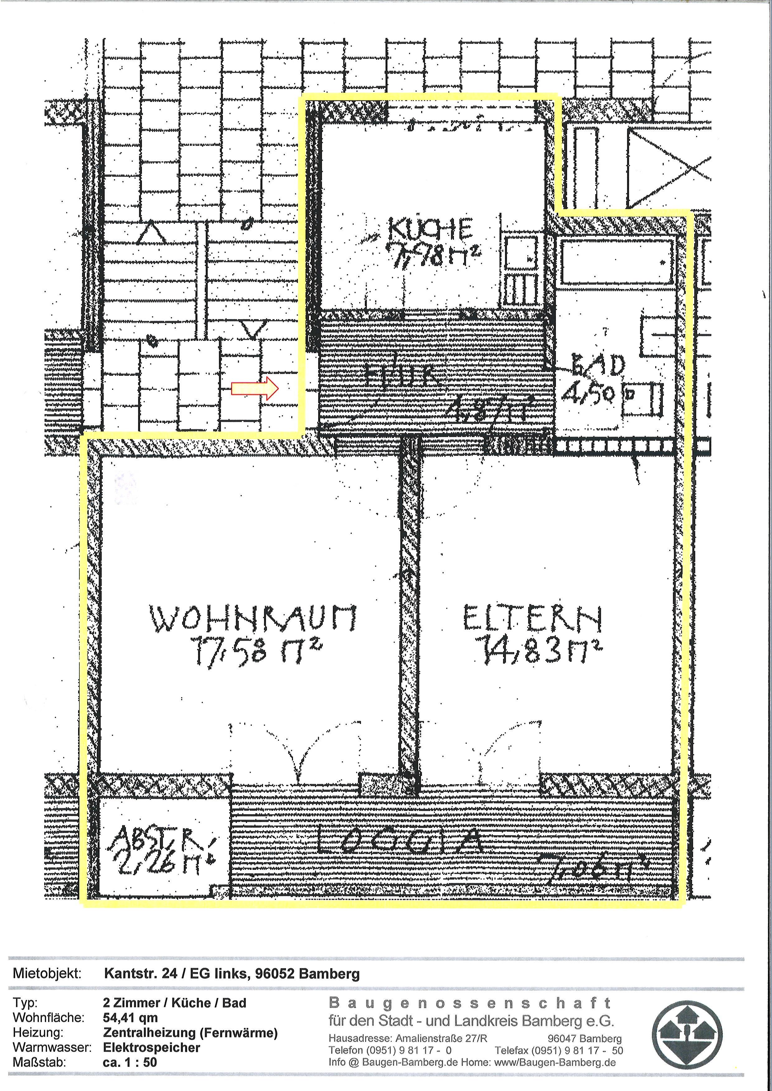mietangebote baugenossenschaft f r den stadt und landkreis bamberg e g. Black Bedroom Furniture Sets. Home Design Ideas